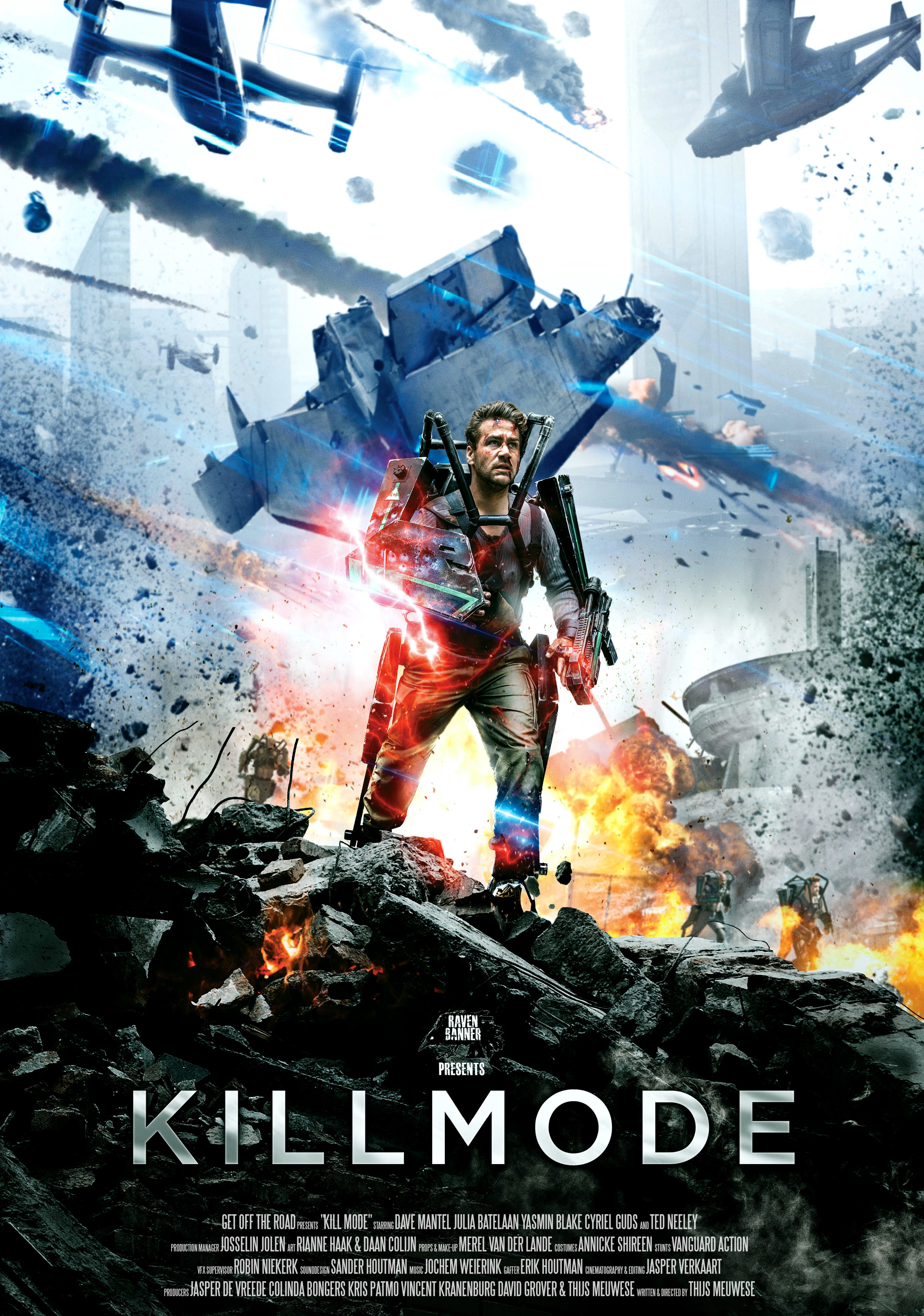 KILL MODE, Action/Science Fiction (completed, screening AFM 2019)