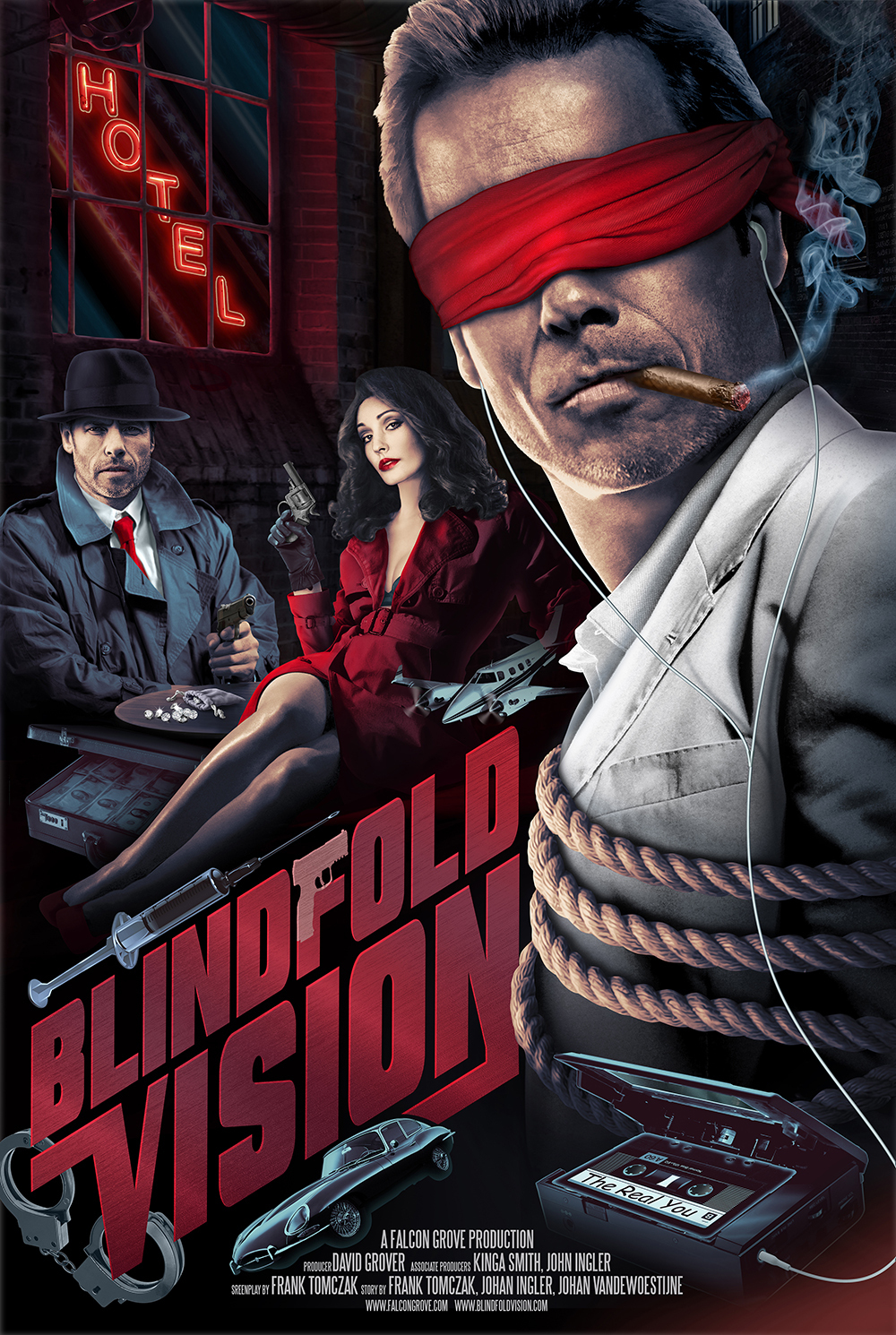 BLINDFOLD VISION, Action / Psychological Thriller (packaging & financing)