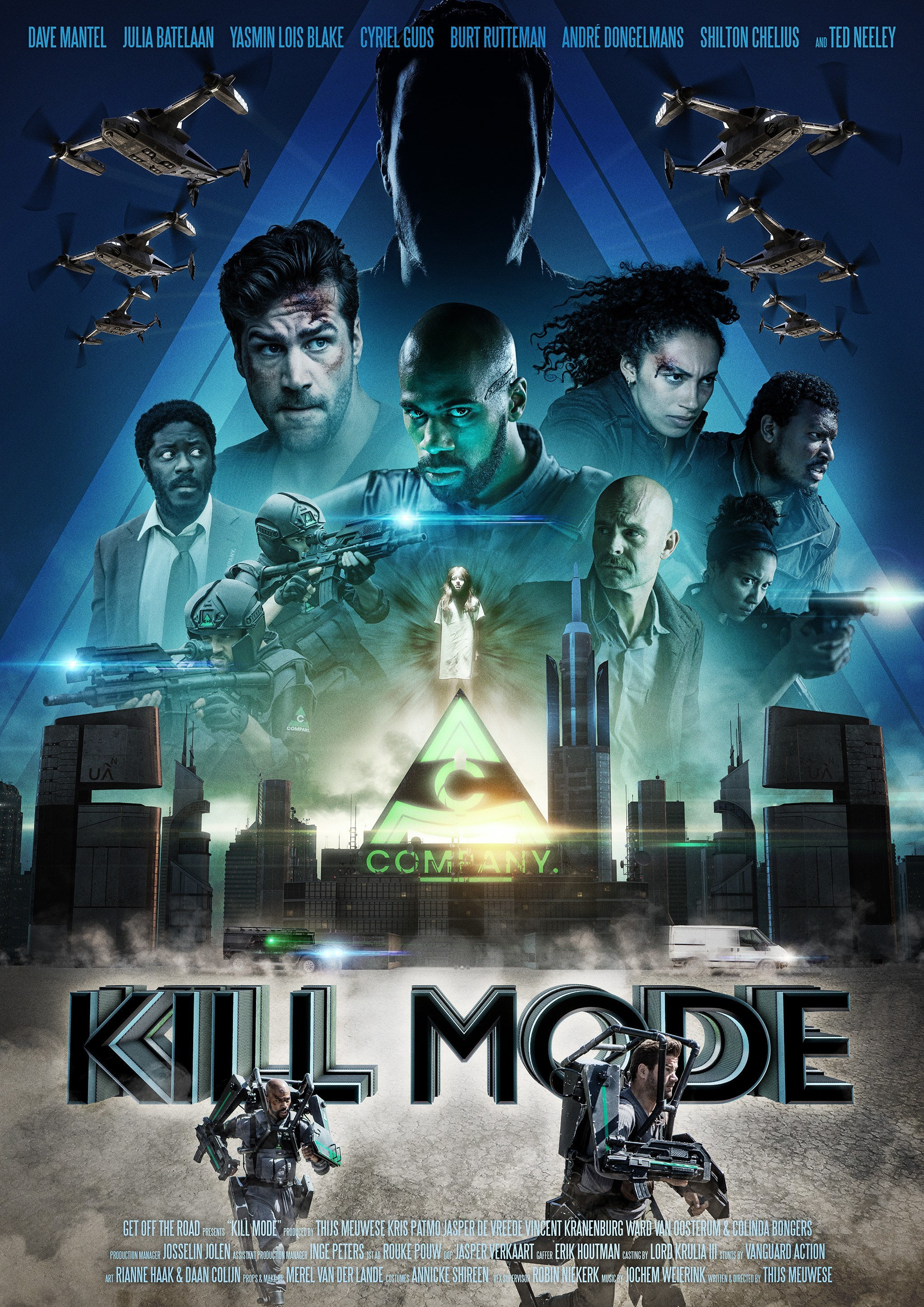 KILL MODE, Action/Science Fiction (post-production)